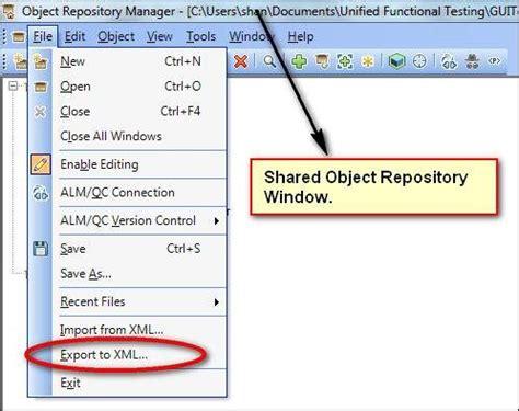 xml tutorial point pdf qtp object repository as xml