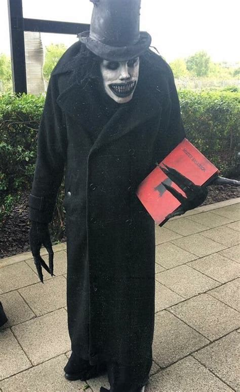 accurate babadook cosplay creepy
