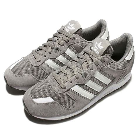 adidas originals zx 700 grey white suede mens running shoes sneakers s76175 ebay