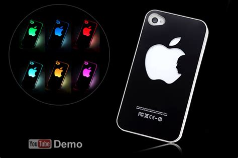 Led Iphone 4s sense led cover for iphone 4 4s