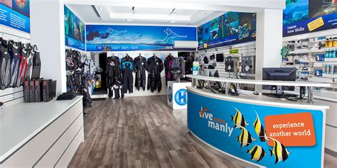 dive shop scuba diving shop trebor design