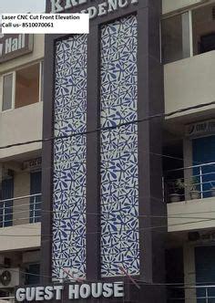 grc jali  laser cut front elevation  delhi noida