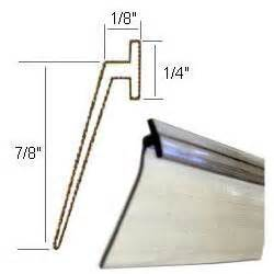 shower door sweep replacement parts angled clear vinyl framed shower door drip sweep 36 in