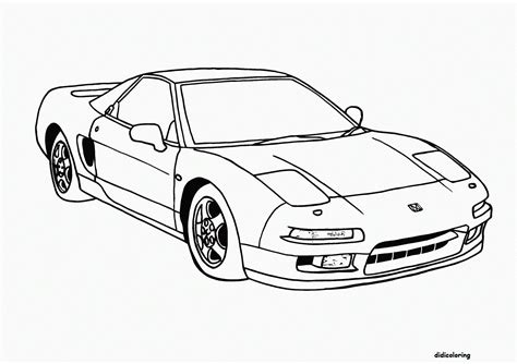 Didi Coloring Page Car Pictures Of Cars To Color