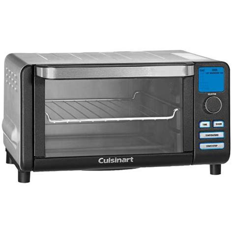 Cuisinart Compact Digital Toaster Oven cuisinart tob 100bw compact digital toaster oven and broiler bake broil toast keep warm