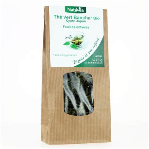 the bancha th 233 vert japonais bancha natavea