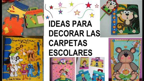 imagenes escolares para decorar decoraciones de carpetas escolares 100 ideas youtube