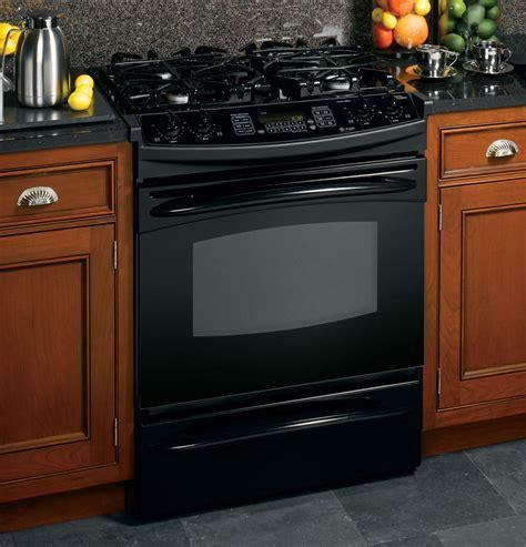 ge kitchen appliances reviews ge profile 30 quot slide in gas range pgs968bembb ge