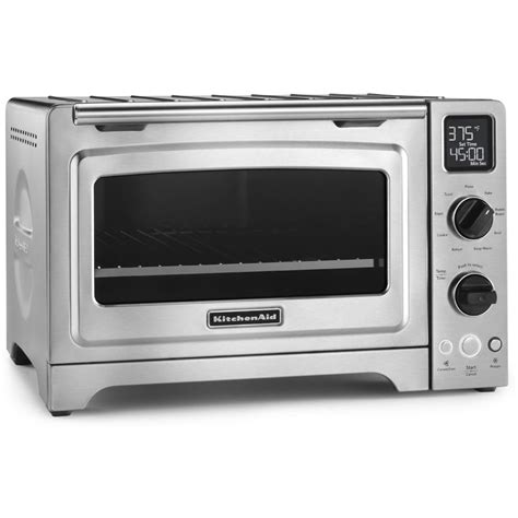 shop kitchenaid 6 slice stainless steel convection toaster