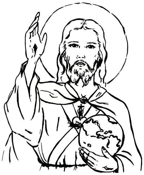 imagenes de jesus para colorear imprimir imagem de jesus para colorir az dibujos para colorear