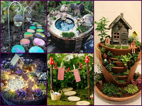 garden decoration ideas homemade amazing diy fairy garden decorating ideas miniature
