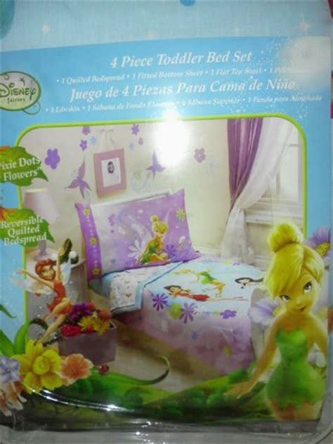 tinkerbell bed sets 28 images disney tinkerbell disney 4 piece toddler bed set fairies 25 00