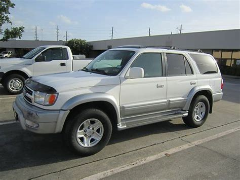 how to sell used cars 1999 toyota 4runner free book repair manuals sell used 1999 toyota 4runner limited sport utility 4 door 3 4l in houston texas united states