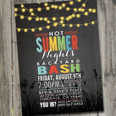 backyard bbq invitations 25 best ideas about summer party invites on pinterest hawaiian flip flops luau