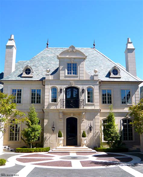 french home designs classic french chateau style exterior architecture