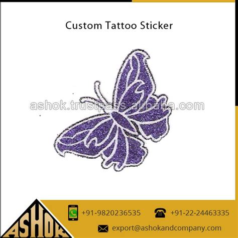 Glitter Tattoo Aufkleber by Retailer Tattoos Sticker Glitter Body Art Tattoos Sticker