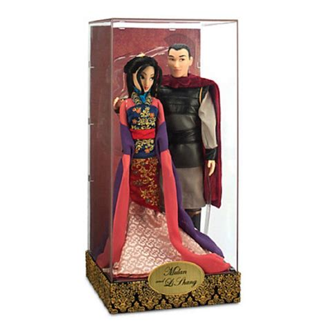 design a boutique doll size disney mulan and li shang doll set from amazon epic