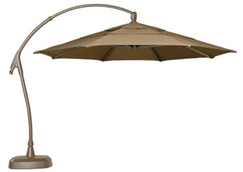 Overhang Patio Umbrella Overhang Patio Umbrella Treasure Garden 11 Octagonal Cantilever Offset Alum Umbrella Kitchen