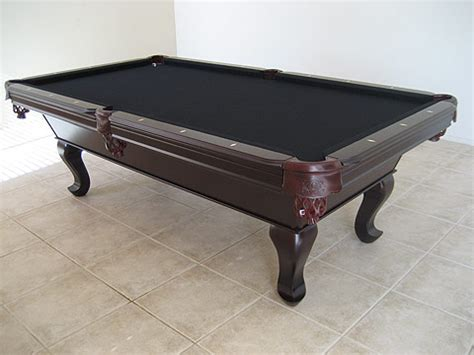 Black Felt Pool Table by Tiburon Cherry Pool Table So Cal Pool Tables