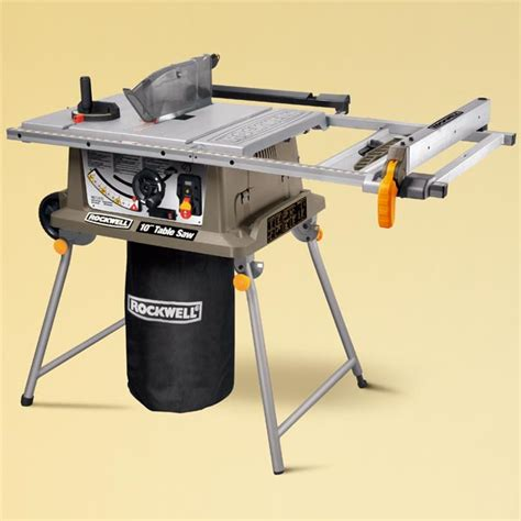 Rockwell Rk7241s Toh Tested Portable Table Saws This