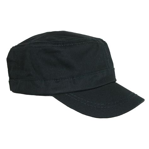 womens cotton custom solid color cadet hat by something