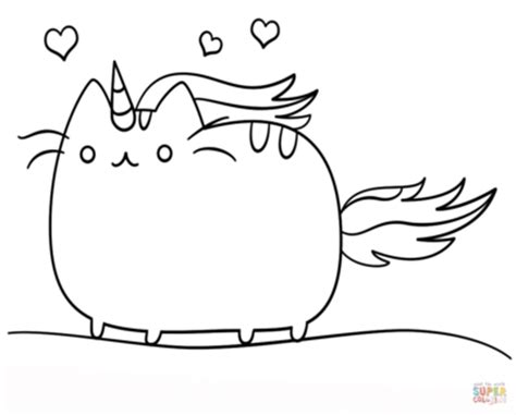 kawaii cat coloring sheets cute kitty yawning page for