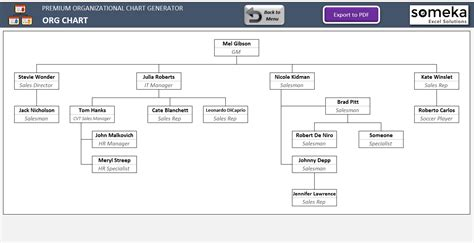 org chart creator free automatic organizational chart maker with photos excel