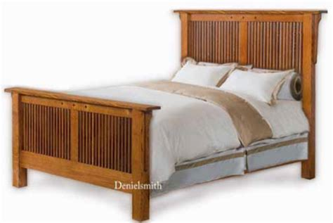 king bed plans shaker mission queen or king bed woodworking plans ebay