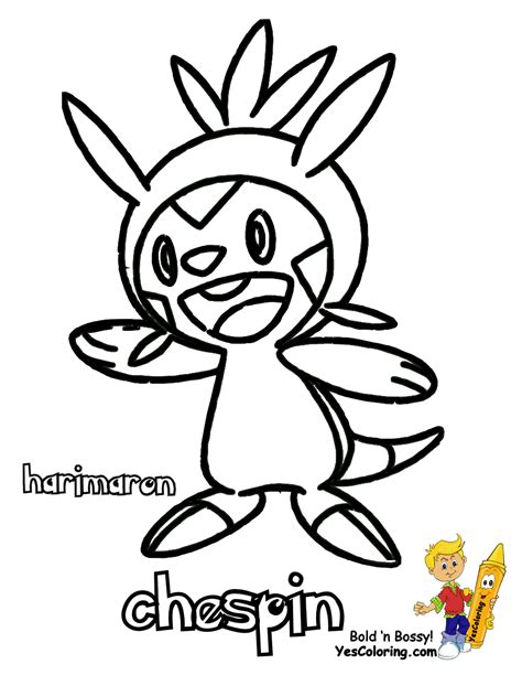 pokemon coloring pages hawlucha spectacular pokemon x and y chespin swirlix free