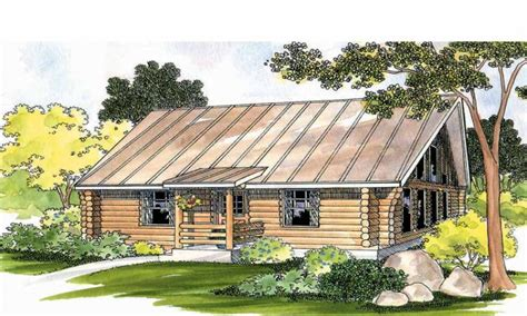 one story log cabins best log home cabin plans 1 story log home floor plans