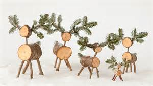 christmas tree deer craft martha stewart