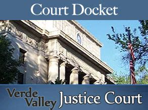 Verde Valley Justice Court Search Court Docket Feb 28 2016 C Verde Bugle C Verde Az