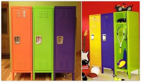 lockers for bedrooms 10 ideas to use lockers as room storage kidsomania