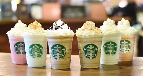 Frappuccino Starbucks Wallpaper in Six Cups of New Flavors