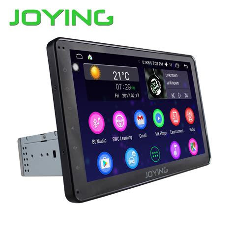 android car stereo 2017 android 6 0 car stereo single 1din auto radio hd 1024 600 gps radio 10 1 inch screen