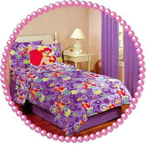 ariel bedroom set ariel twin bedding set little mermaid comforter sheet