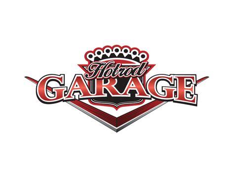 hotrod garage logo matt briner graphic designer