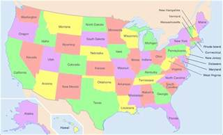 Map Us States by Exploredia Interesting News And Facts Encyclopedia
