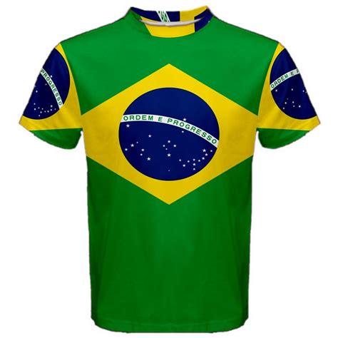 ebay brazil new brazil brazilian flag sublimation men s t shirt size s