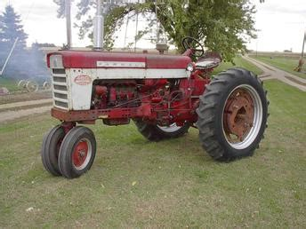 Ihc 460 Diesel Antique Tractor
