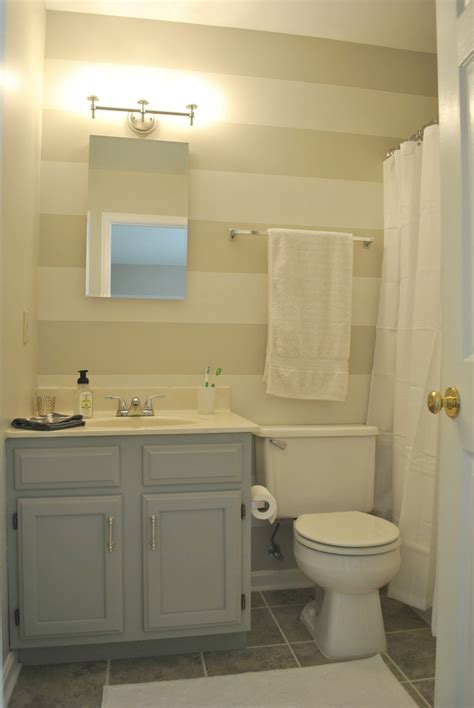 a o on the go budget master bath make after