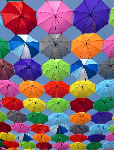 color on pictures pink grey and green folding umbrella painting 183 free stock