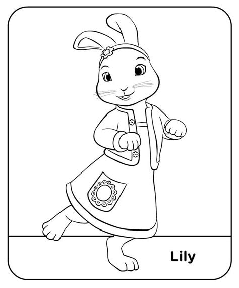 easter coloring pages nick jr peter rabbit colour lily treehouse colouring pages