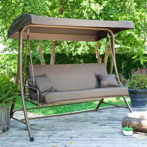 Swing Chair Patio Patio Swing Chair With Canopy Home Design Ideas