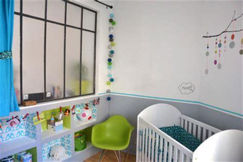 Supérieur Deco Chambre Bebe Bleu Gris #5: deco-chambre-bebe-bleu-gris-9.jpg