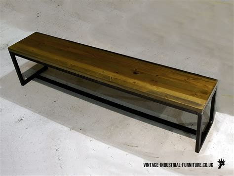 industrial benches vintage industrial grafik bench