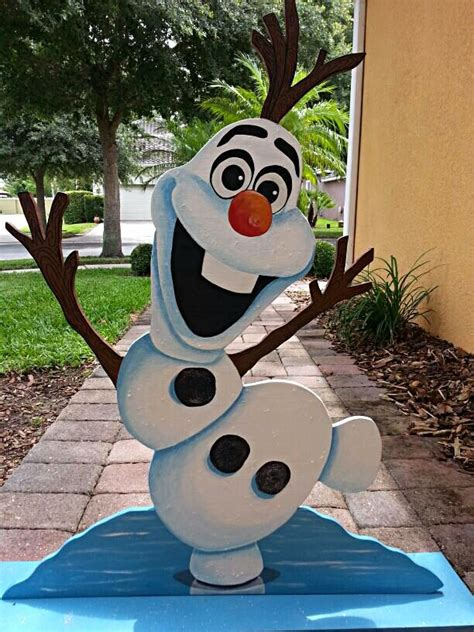 olaf decorations 1000 ideas about olaf on frozen