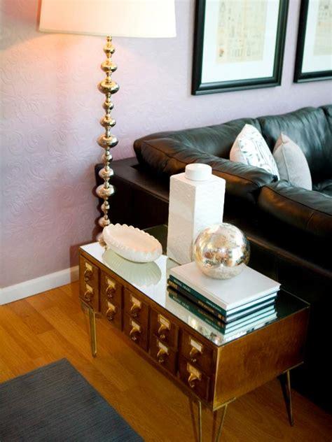 clever ways to repurpose furniture dewey decimal table