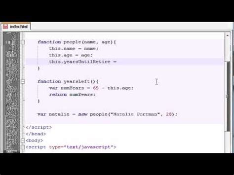 javascript tutorial sites beginner javascript tutorial 27 adding methods to our