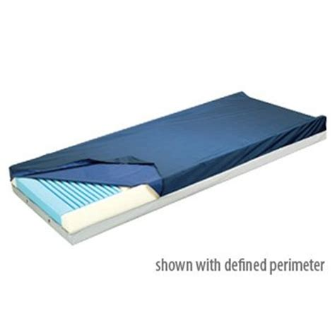36 X 75 Mattress by Lumex 419 Foam Mattress 36 X 75 X 6 With Zipper Cover 1